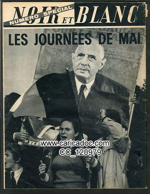 Mai 68 mai 1968 mouvement de mai : unes de journaux