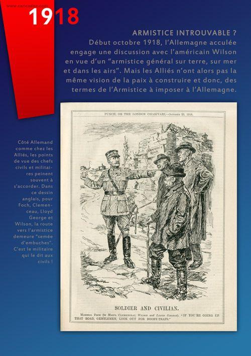 """""""NOVEMBRE 1918, L'ARMISTICE !"""" : exposition itinérante à louer / à imprimer"""