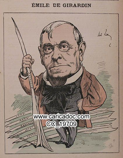 Girardin Emile de Girardin - Girardin Emile von