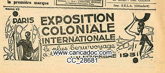 Expositions coloniales Exposition coloniale