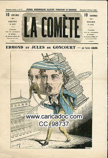 Edmond de Goncourt Jules de Goncourt