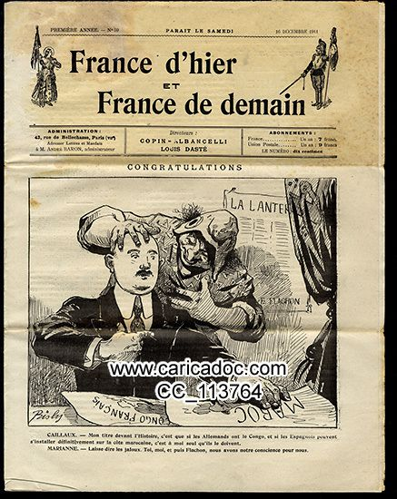 France d'hier et France de demain 1911