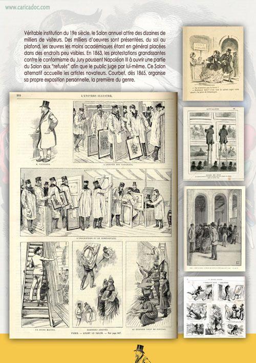 Gustave Courbet vu par le dessin de presse, une exposition itinérante à imprimer / à louer
