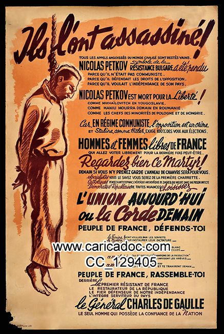 Affiche Charles de Gaulle Affiches