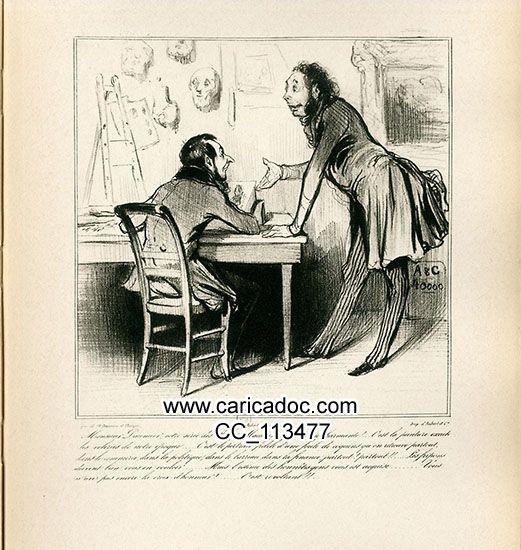 Honoré Daumier Honoré