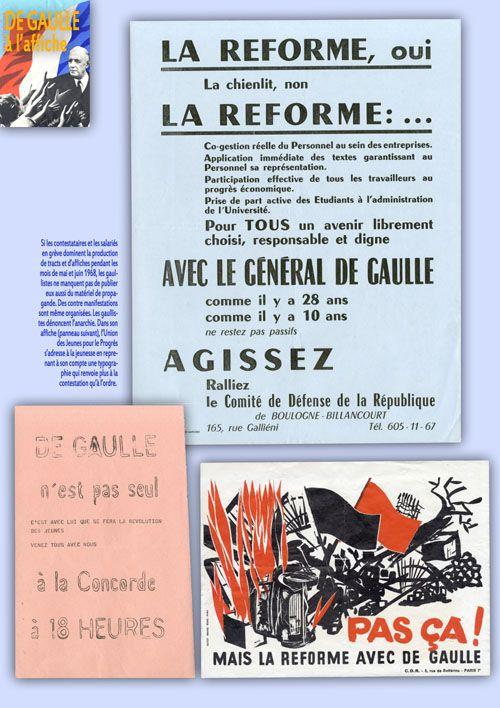Exposition DE GAULLE A L'AFFICHE : exposition itinérante à imprimer
