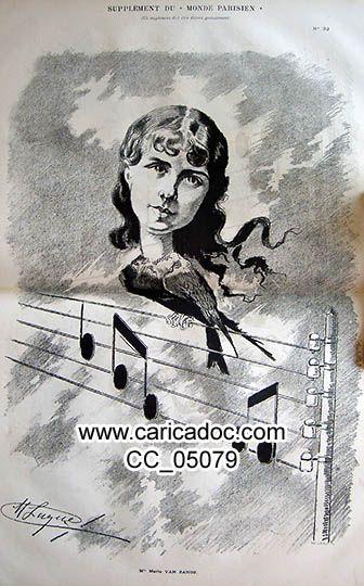 Musiciens célèbres - Berühmte Musiker - Famous musicians