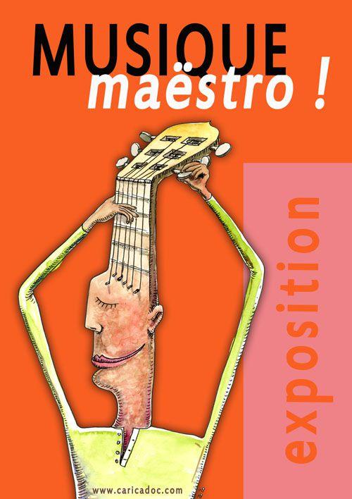 Exposition Musique, maëstro ! : une exposition qui revisite les instruments de musique