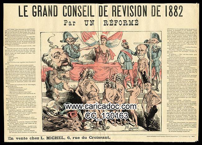 Le grand conseil de révision de 1882