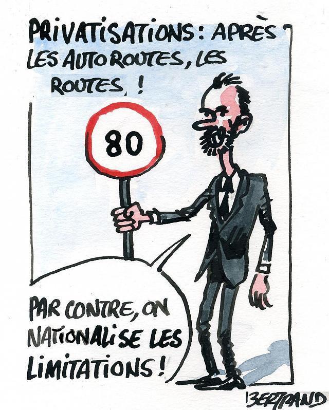 Privatisation des routes nationales par FFMC
