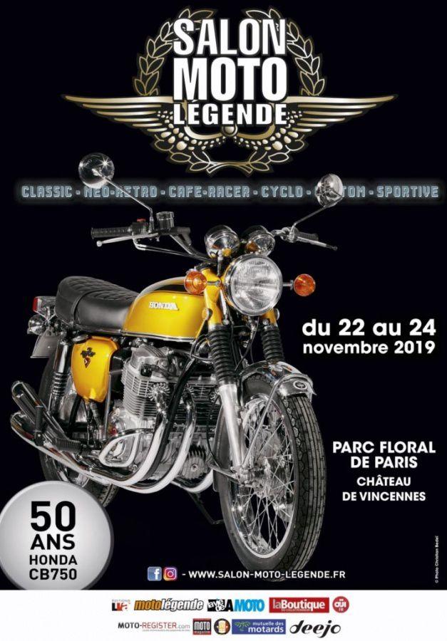 Salon Moto Légende 2019