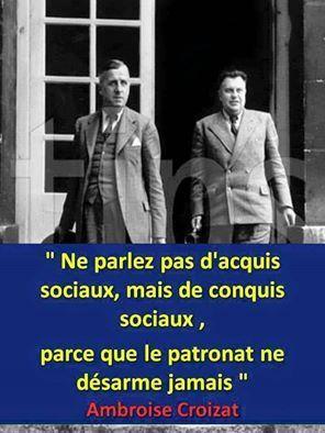 Janvier 1947 la sécurité sociale est créée