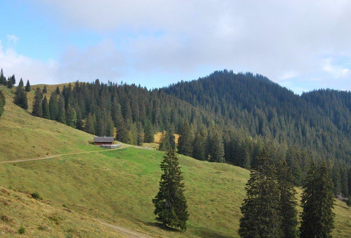 Trois randonneurs en Autriche