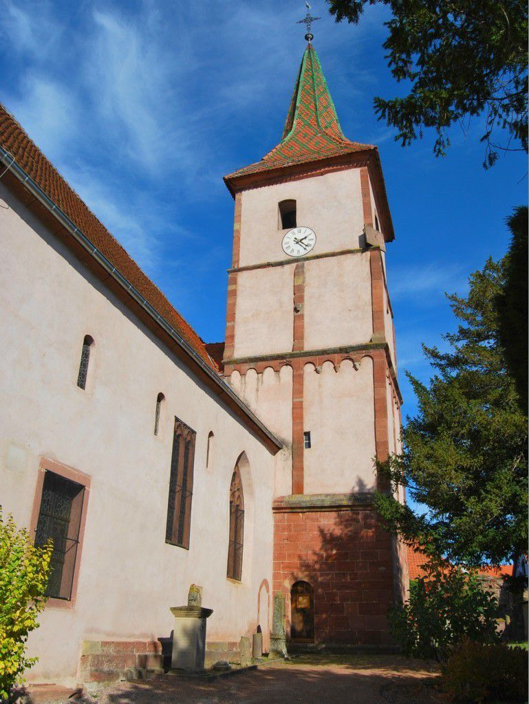 Le clocher fortifié de Balbronn