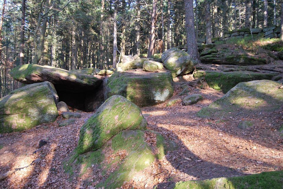 La mystérieuse grotte des druides
