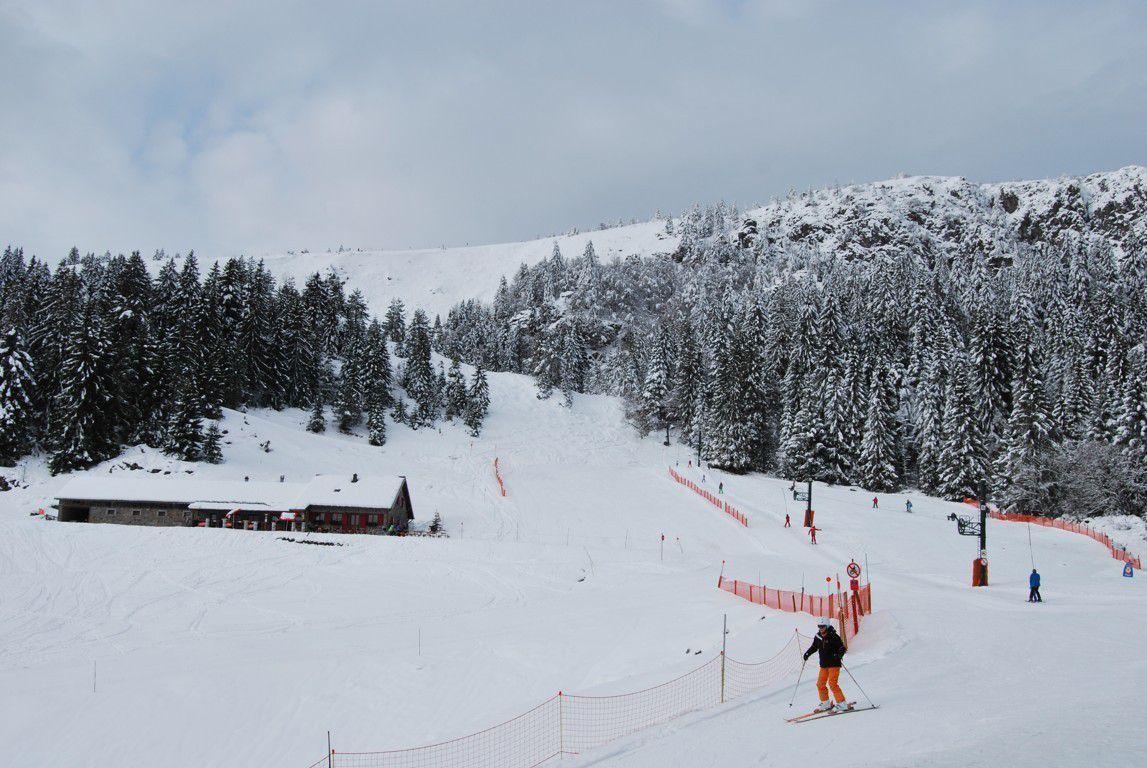 La petite station du Tanet est située sur le flanc alsacien du massif