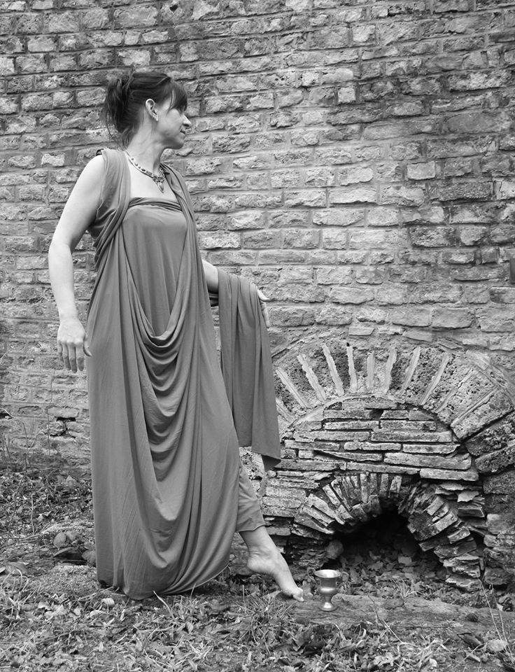 Vallonia, déesse romaine protectrice des vallées ...