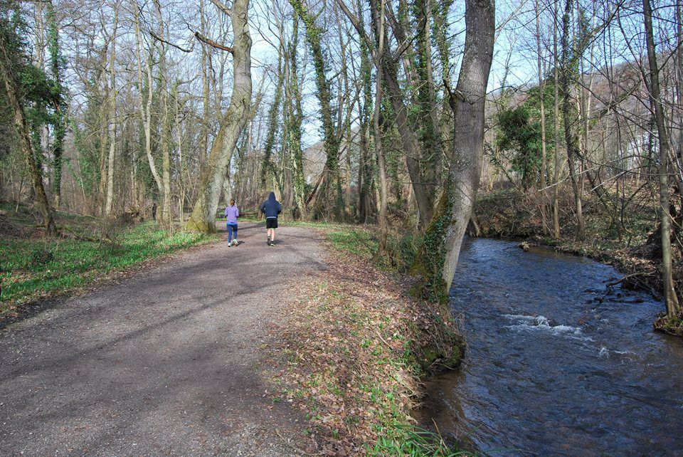 Le dimanche, vous croiserez plus d'un joggeur le long de l'Ehn