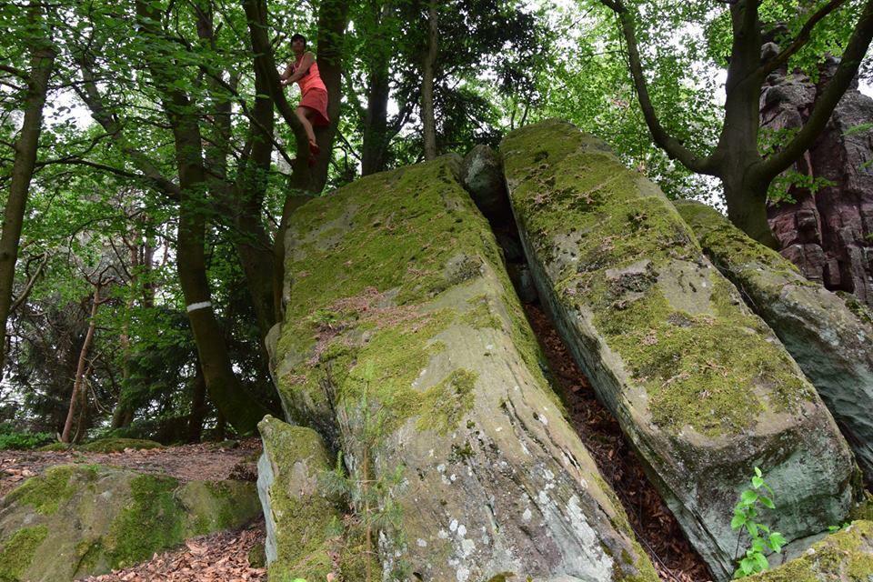 Les rochers autour du Haberacker