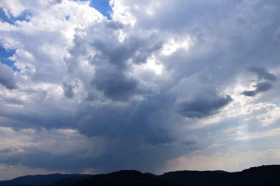 L'orage gagne du terrain