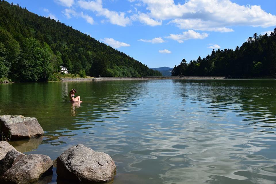 Et enfin les eaux fraîches du lac de Schiessrothried