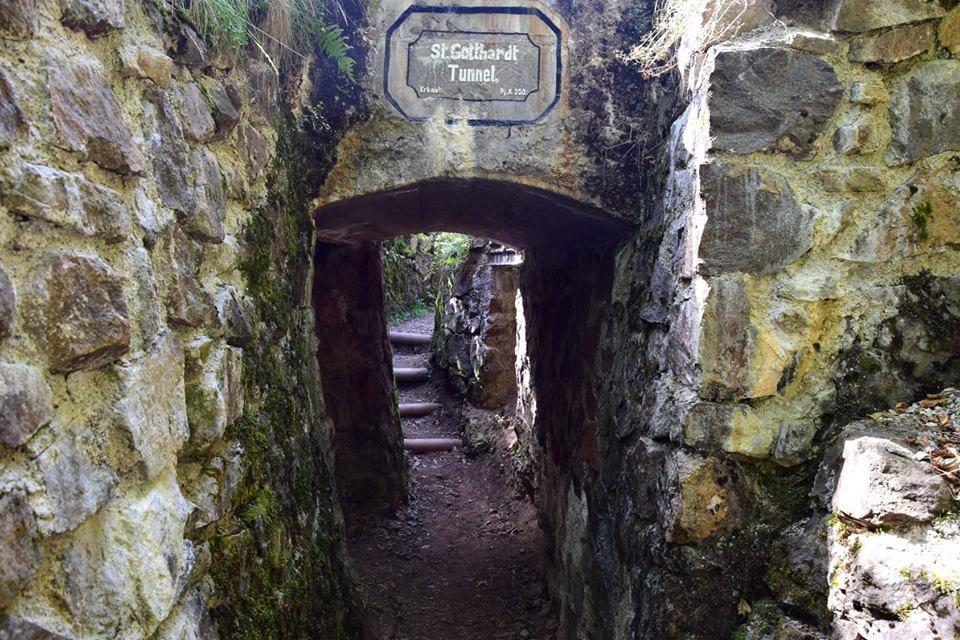 Un tunnel allemand appelé St Gothard
