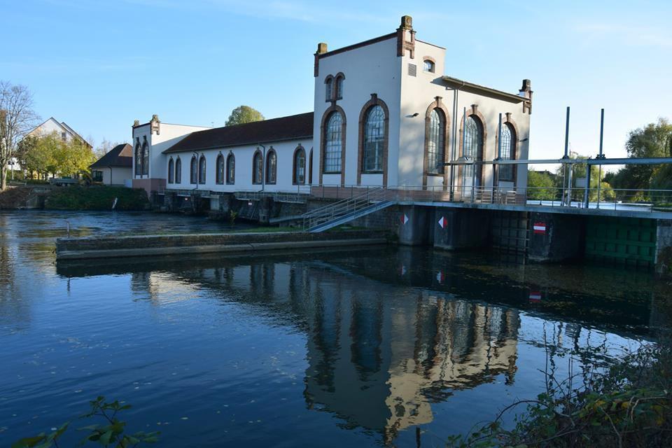 """La centrale hydro-élèctrique """"Hydrovolt"""" à Eschau"""