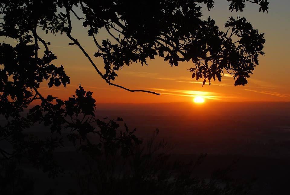 Septembre. Un lever de soleil à St Jean-Saverne