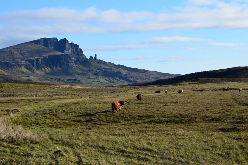 Mai. Paysages sur l'île de Skye, Ecosse