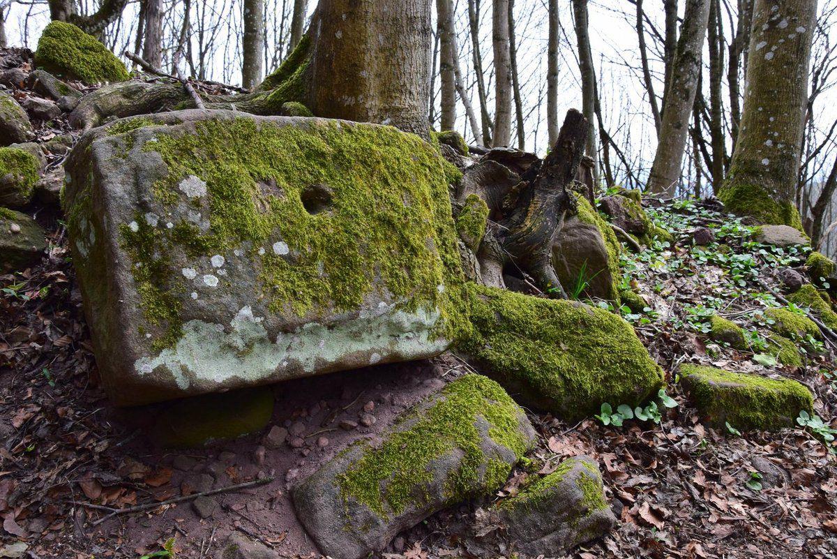 Vieilles pierres au Schlossberg