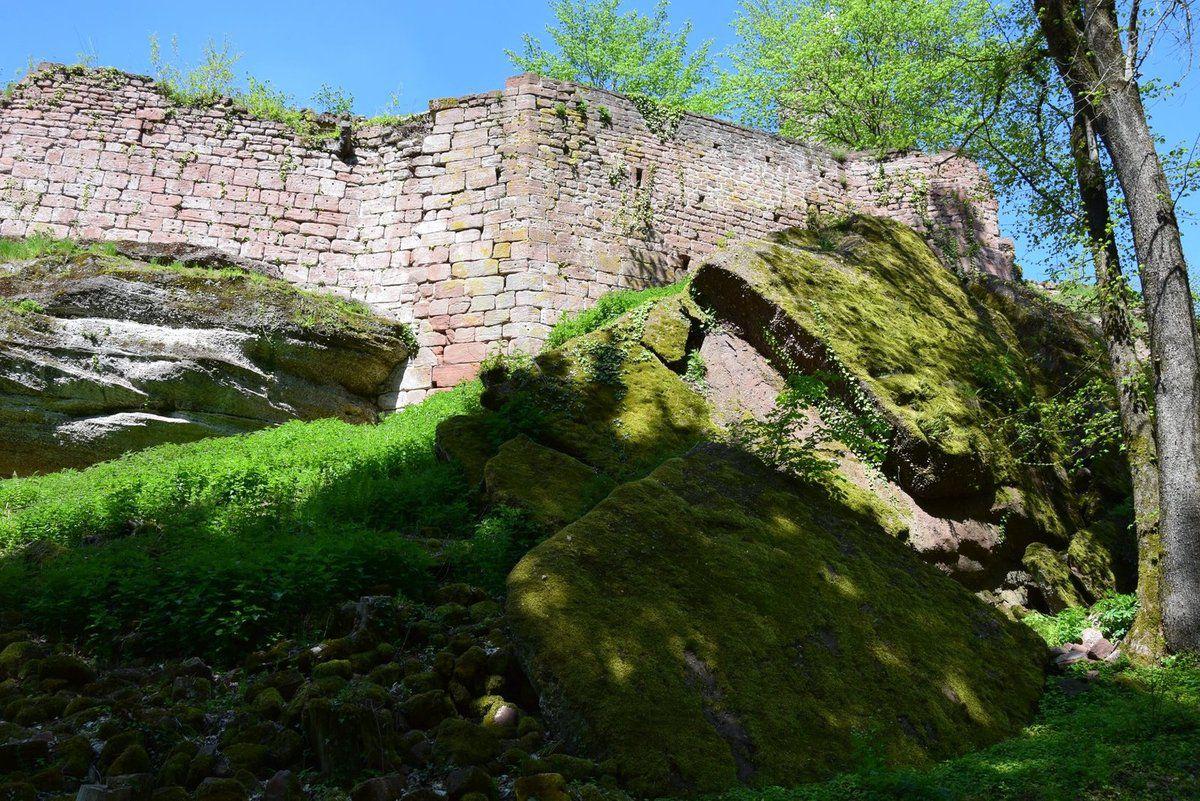 Les murailles du grand Geroldseck
