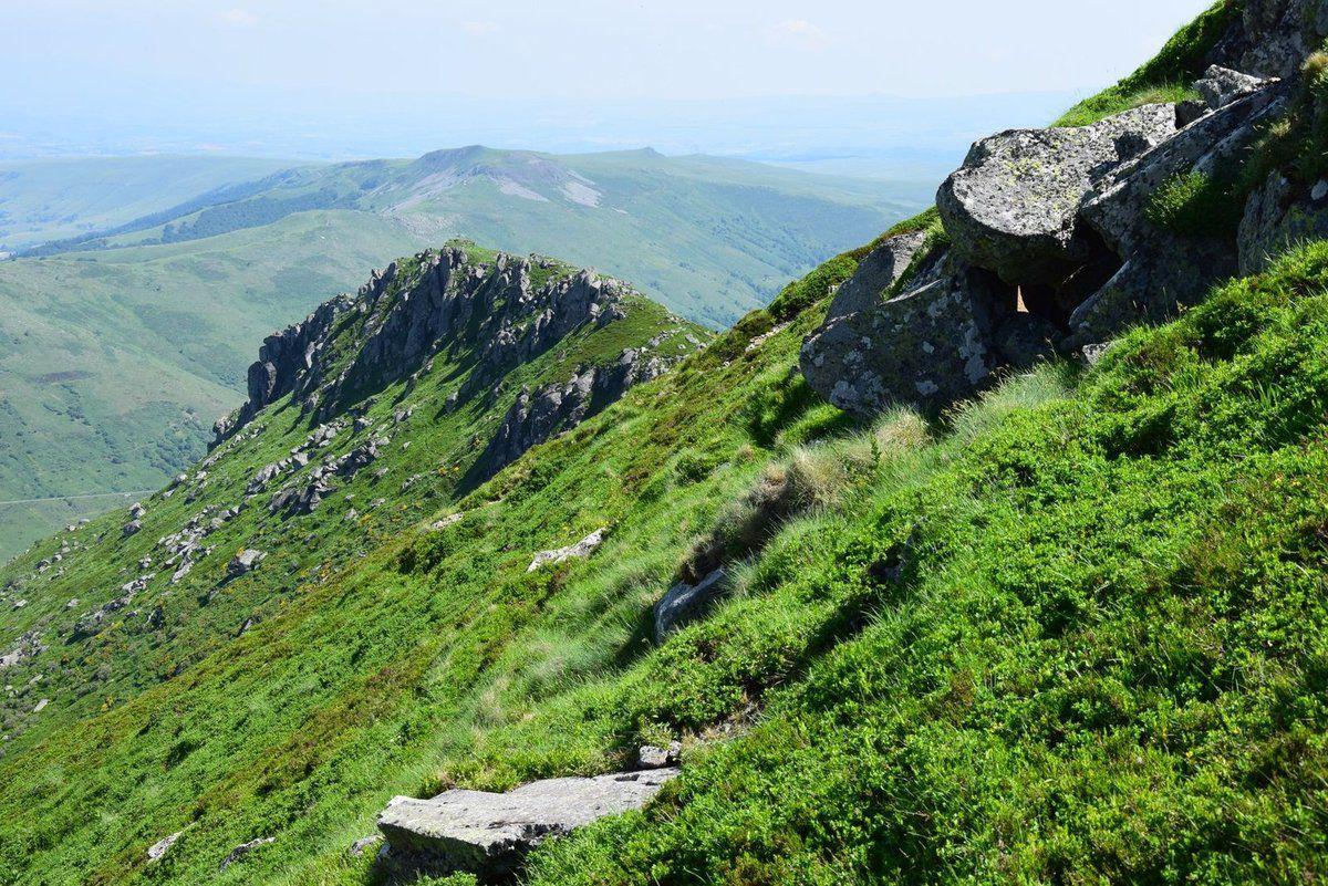 Le Puy Mary - une balade sur les crêtes