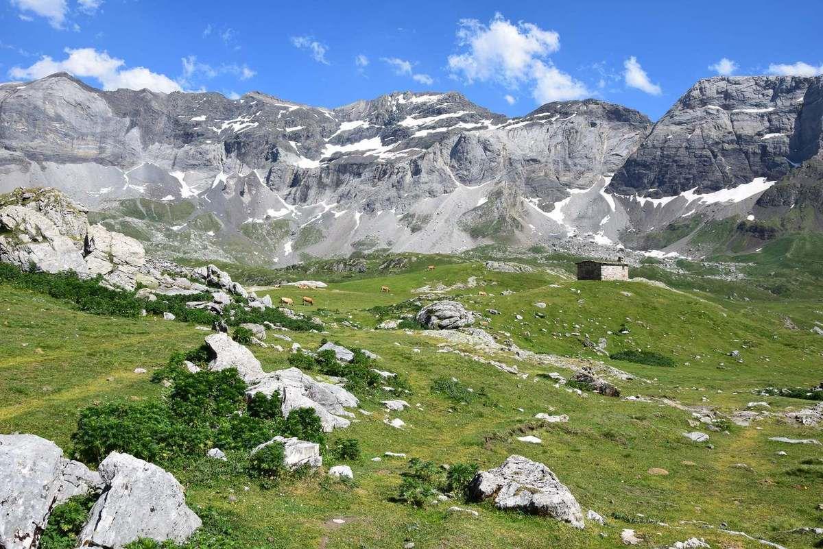 Un abri de bergers
