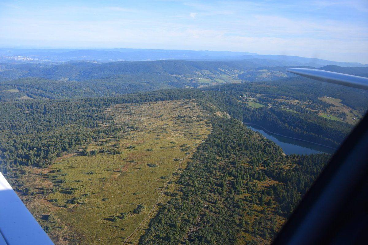 Le Gazon du Faing et le lac Blanc