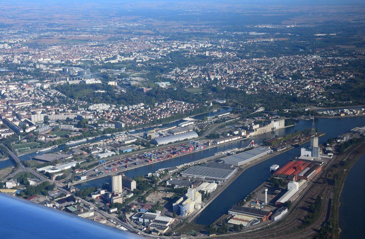 Bassins de l'Industrie et du Commerce, Arcelor Mittal, Naviland Cargo, etc ...