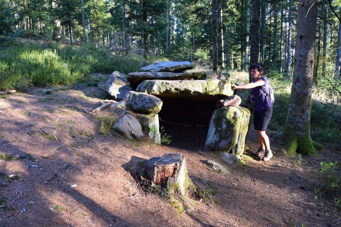 Le dolmen de la Grange Mougin
