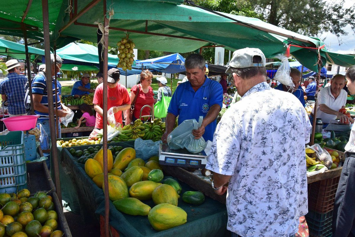 Jour de marché à Cartago