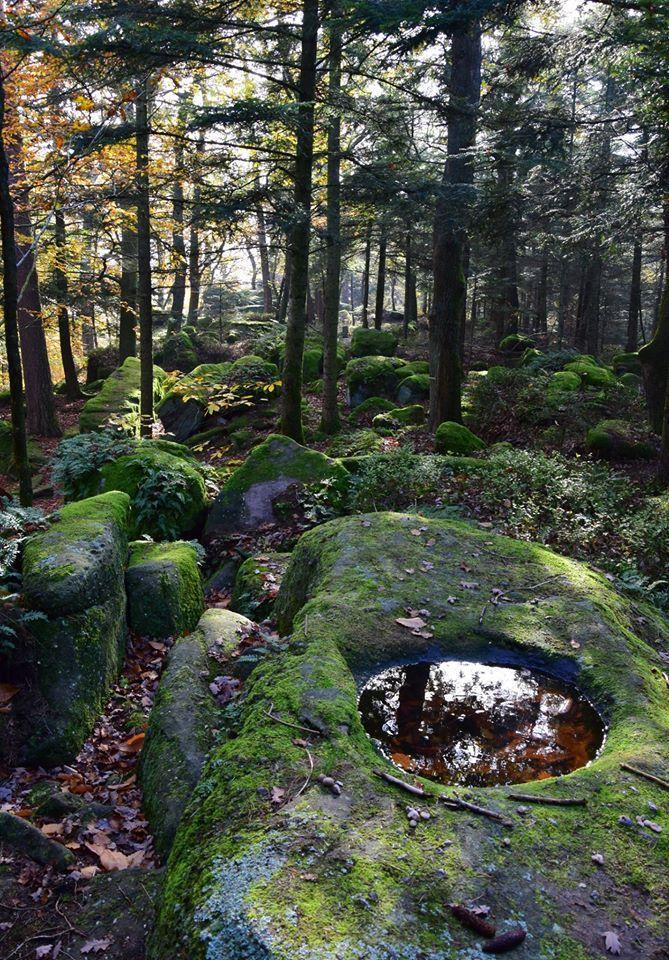 Par endroit, les rochers forment un labyrinthe où il faut chercher son chemin