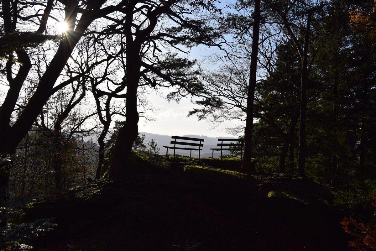 Les deux extrémités de l'Englishberg offrent de belles vues