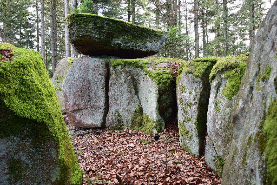 Les rochers du Hochkopf près de Dabo
