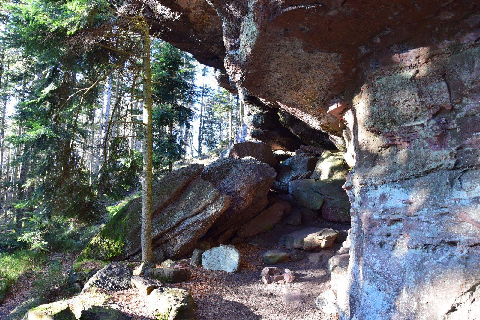 Le rocher du Spitzberg