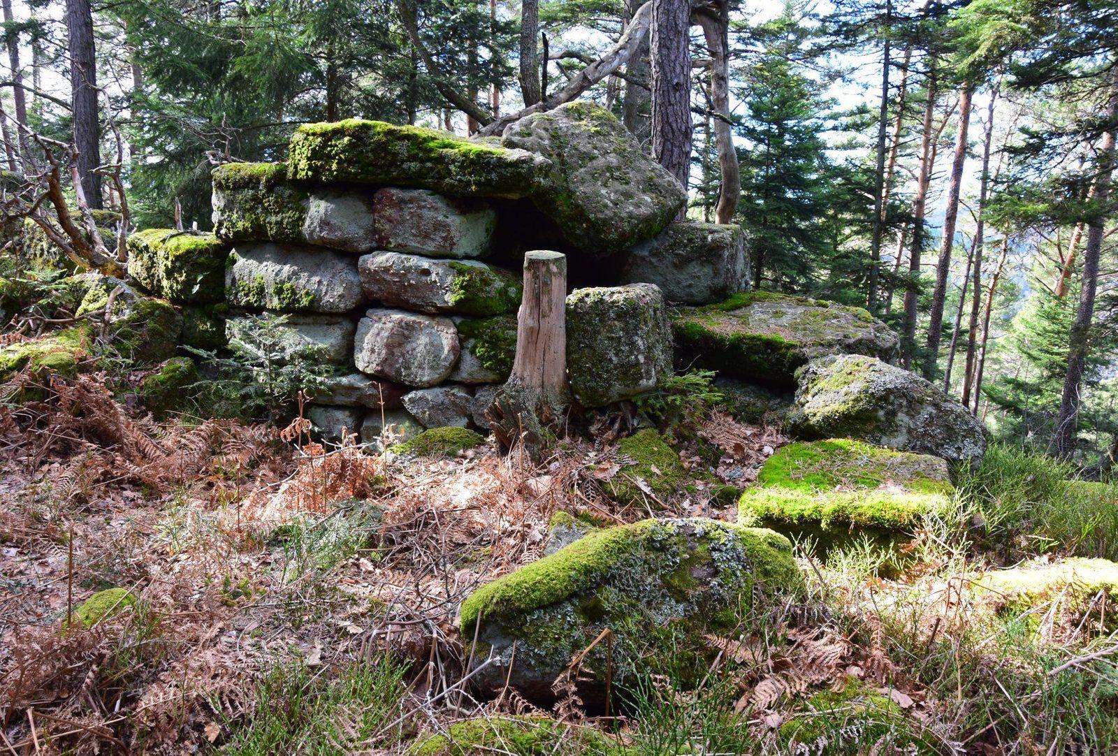 Un mystérieux mur au Mont Sainte Odile