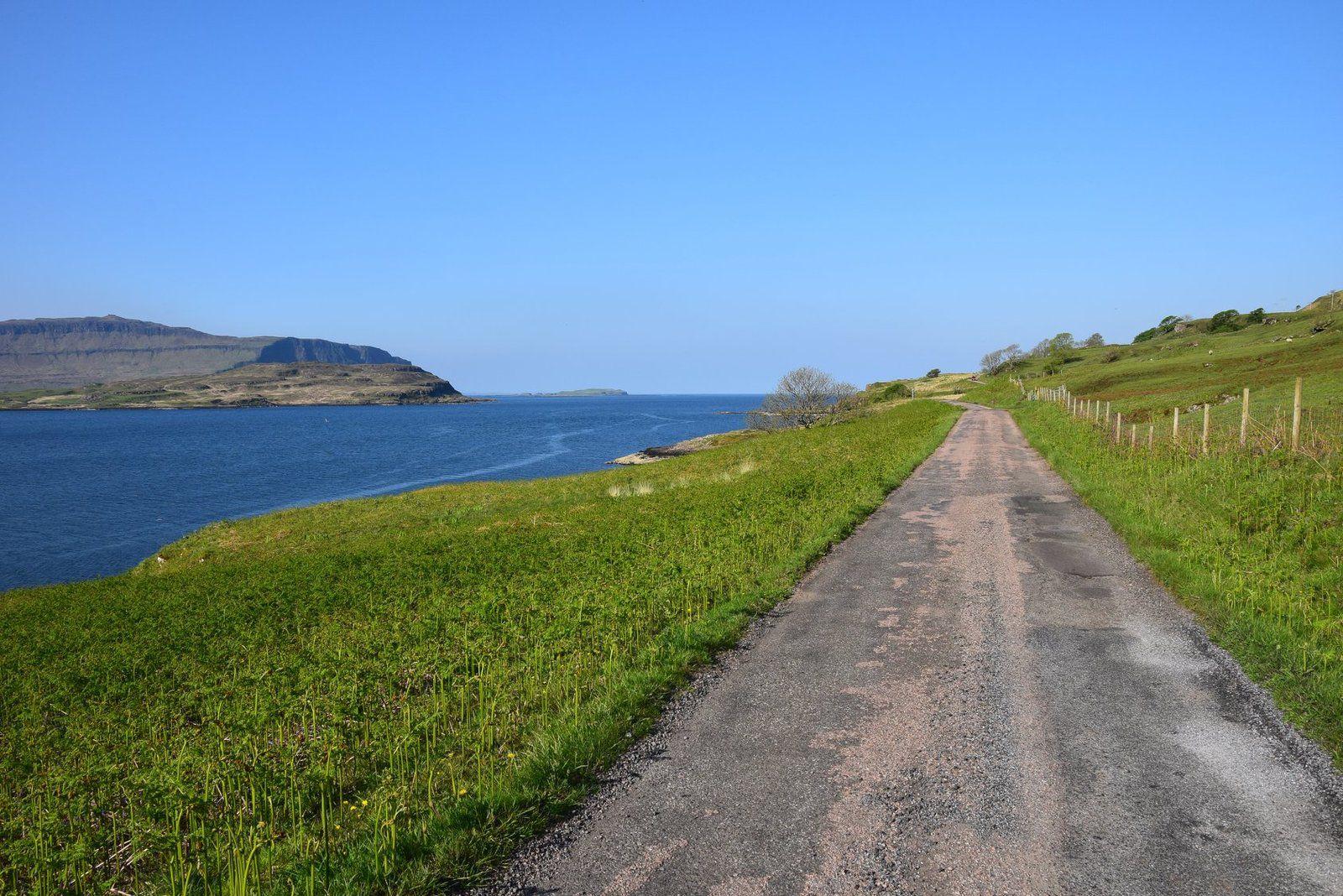 C'est un plaisir de parcourir les routes écossaises