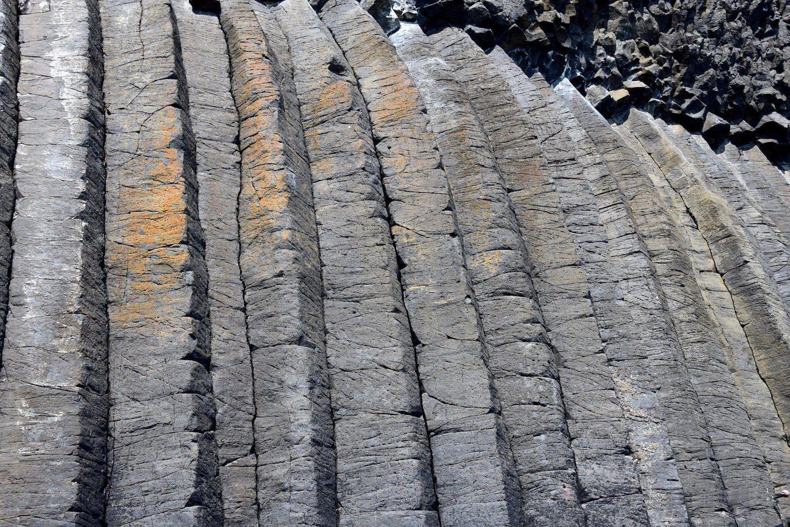 Les orgues basaltiques de l'île de Staffa