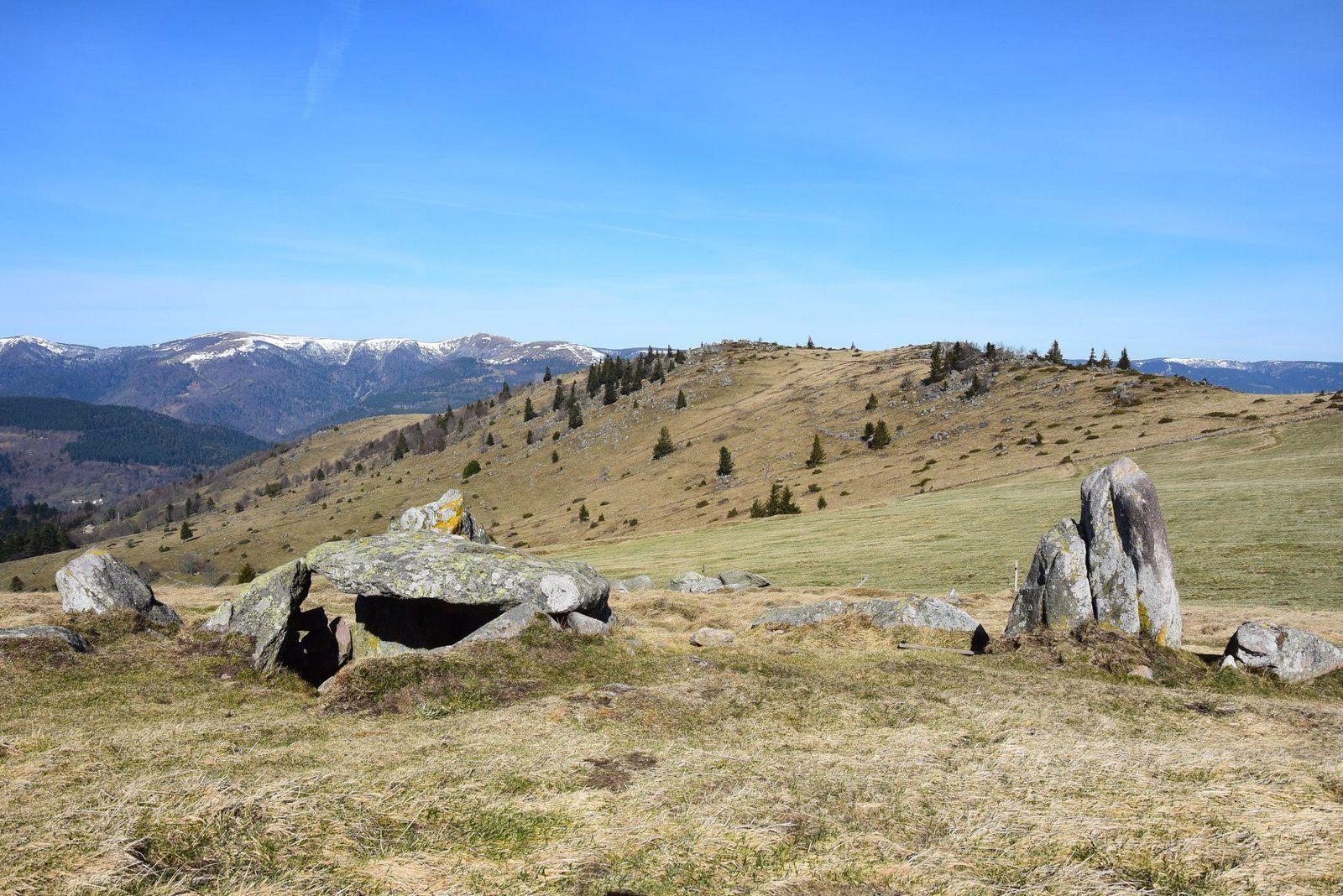 Le dolmen du petit Ballon. Des Celtes seraient passés par ici ? C'est tout à fait probable