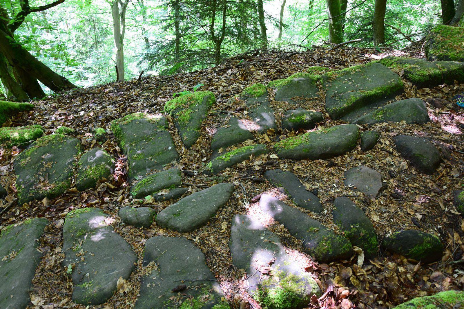 Une voie romaine au mont Saint Michel