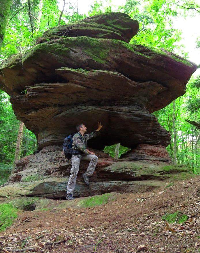Le rocher de la Kanzel