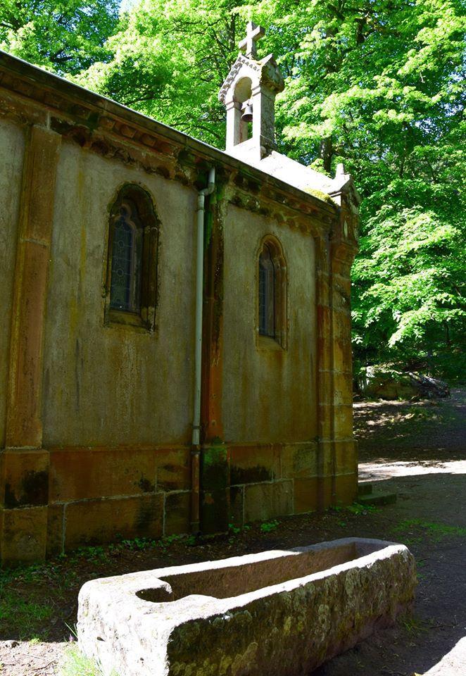 La chapelle de la Maix et son sarcophage mérovingien