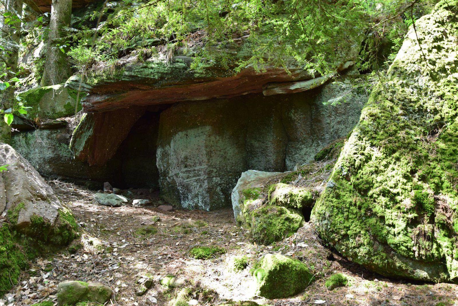 Un autre abri sous-roche