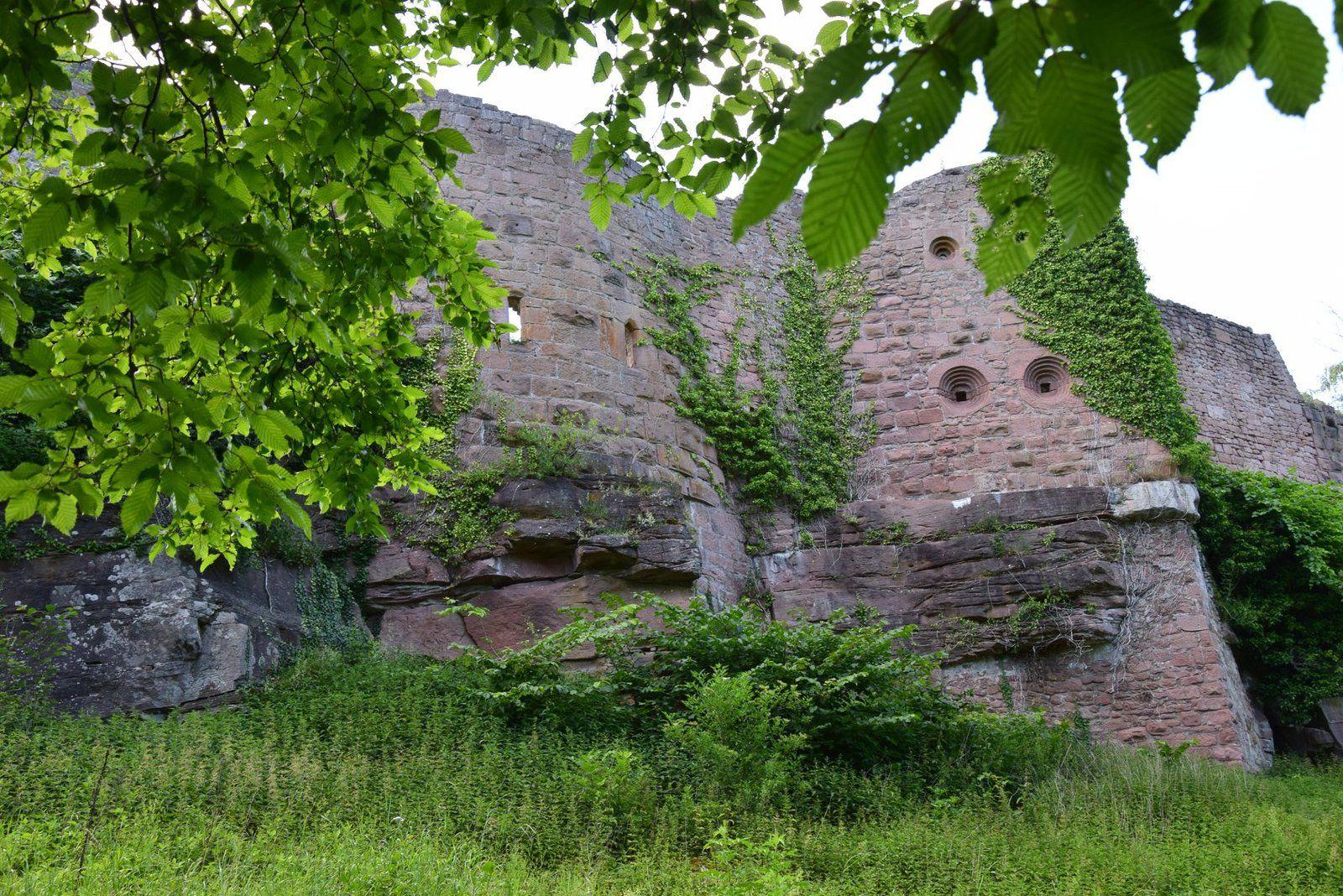 Le système défensif à double étage de la forteresse